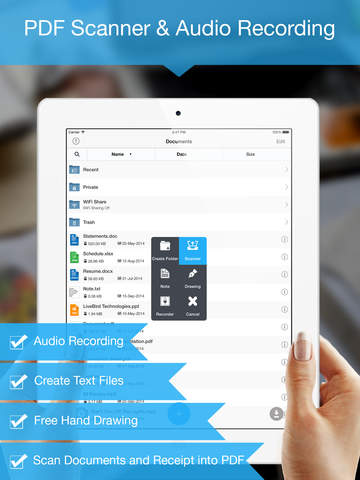 File Manager Pro - Advance File Manager and Document Reader Screenshots