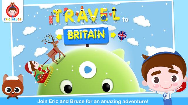 Eric Bruce Travel To Britain