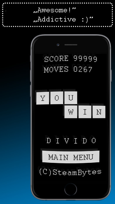 DIVIDO™ Retro - Original math puzzle Screenshots