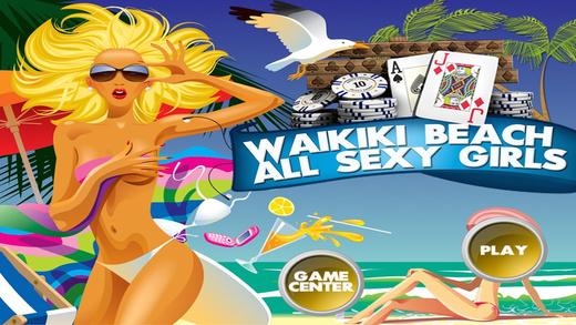 Waikiki Beach All Sexy Girls Pro