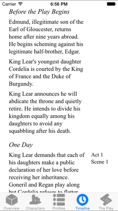 King Lear Full Audio iPhone Screenshot 4