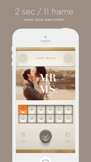 無料摄影AppのStoryMovie|記事Game