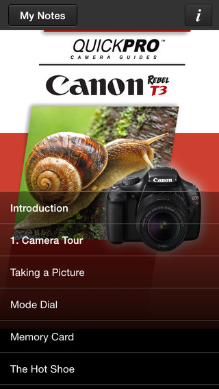 Canon Rebel T3 from QuickPro