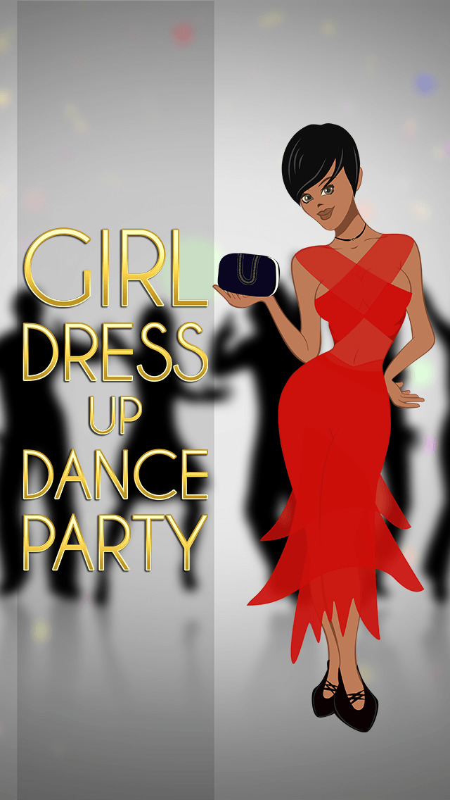 Girl Dress Up Dance Party Pro screenshot 1