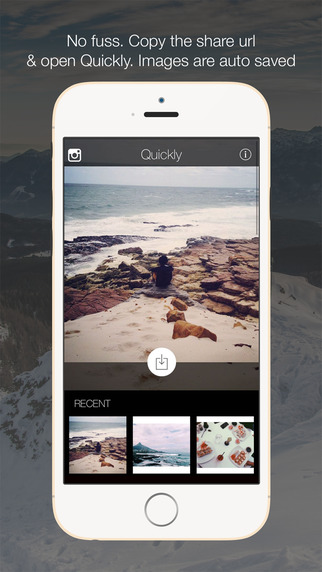 Quickly Download - The best no fuss media downloader for Instagram