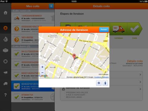 Suivi Colis TNT iPad Screenshot 2