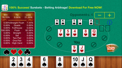 Screenshot 1 Free Holdem Calculator
