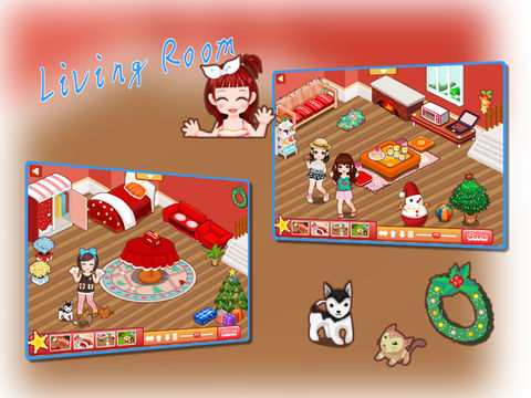 玩免費遊戲APP|下載Host A Christmas Party—Candy Day House Design app不用錢|硬是要APP