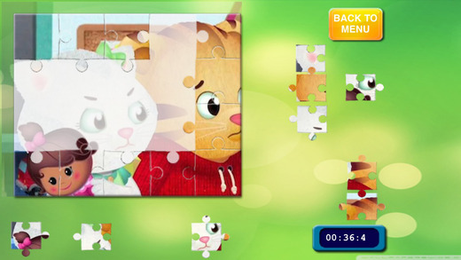 Puzzles for Daniel Tiger´s Unofficial Free App