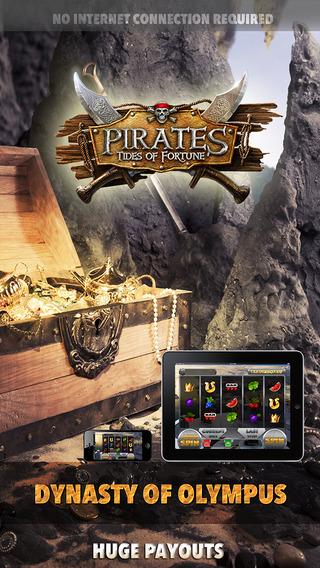 Pirates Tides of Fortunes Slots Machine - FREE Edition King of Las Vegas Casino