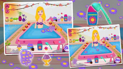 Princess Bridesmaid - Hair Spa Makeover Make up Dress Up Salon