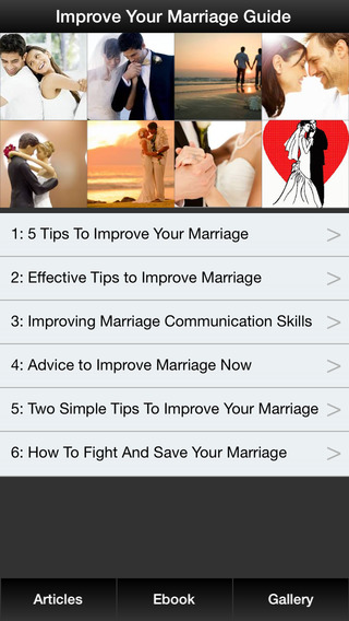 Improve Your Marriage Guide - Bring Your Marriage Back to Newlywed Again Save Your Marriage Relation