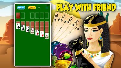 Screenshot 2 Пасьянс косынка Cleopatra's Pyramid Solitaire Saga Пасьянс косынка Live-games онлайн Солитер Epic