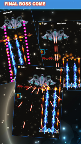 SpaceX Lightning Fighter STG --- bullet hell space shooter game of wwii ace combat