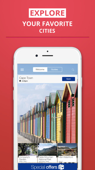 Cape Town - your travel guide with offline maps from tripwolf guide for sights restaurants and hotel