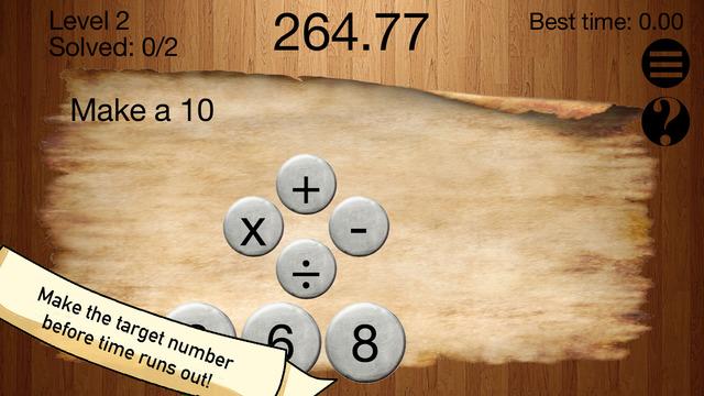 Number King Math Logic Puzzle Game: Full Version