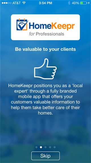 HomeKeepr for Professionals