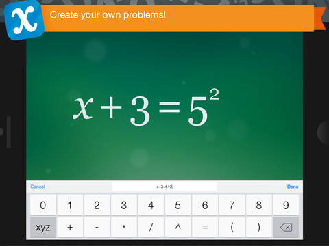 Algebra Touch iPad Screenshot 4