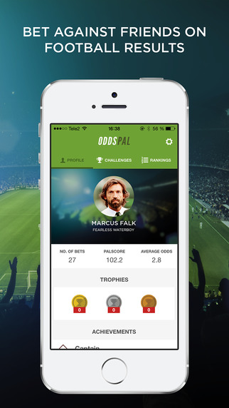 Oddspal - Bet your friends on football