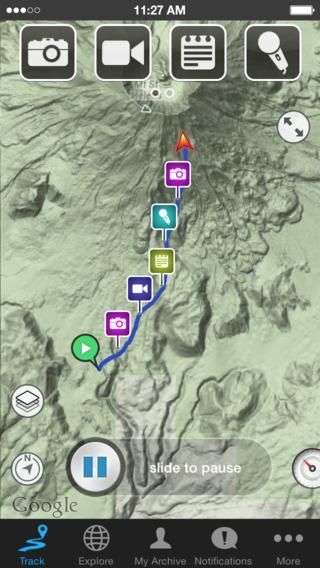 Ramblr Hiking Travel Walking Map Blogging Social