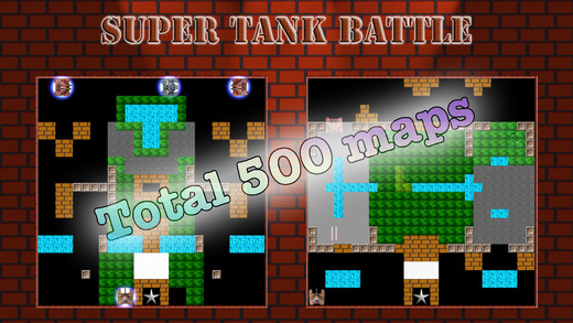 Super Tank Battle Games for iPhone/iPad screenshot