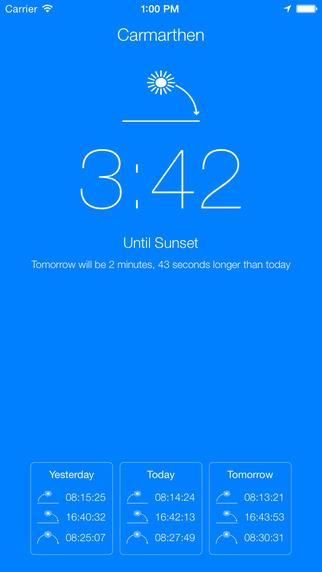 Sunlight - Sunrise and Sunset Calculator