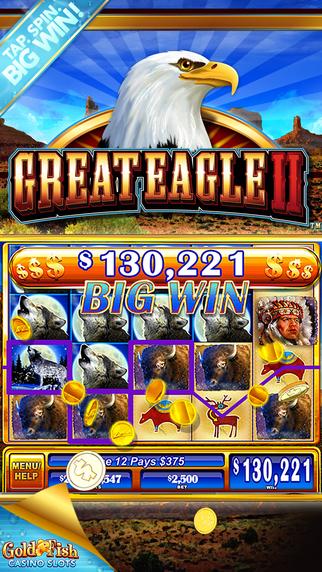 Gold fish casino slots play classic las vegas slot for Big fish casino slots