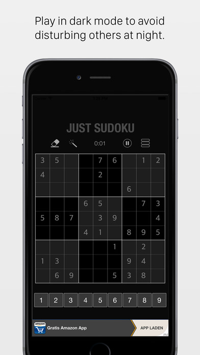 JustSudokuFree iPhone Screenshot 4