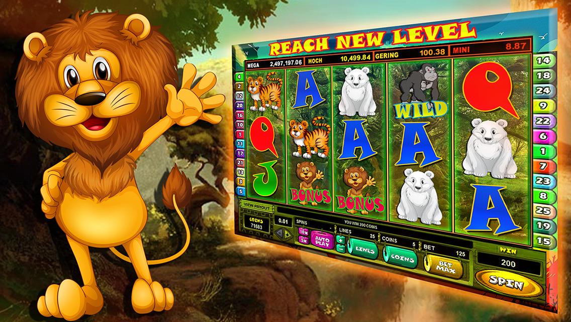 Free slots machines safari