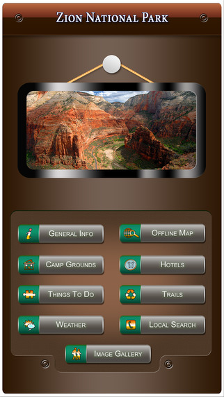Zion National Park-Offline Map