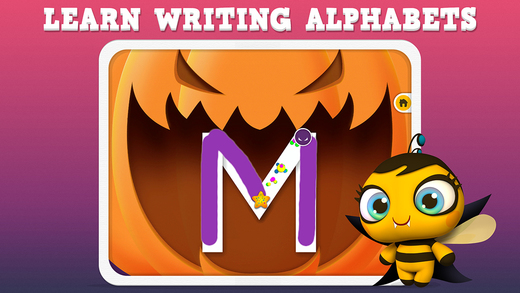 Pumpkin Trace Halloween: Uppercase Alphabet Tracing Playtime for Kids FREE