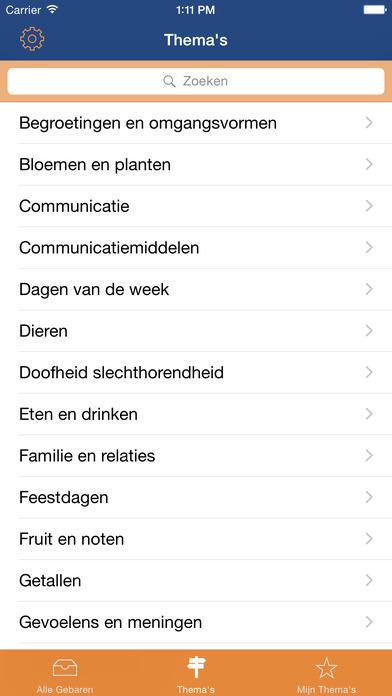 iSignNGT iPhone Screenshot 2