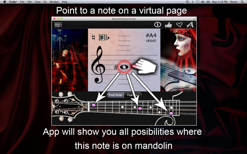 MandolinNotesFinder Screenshot - 1