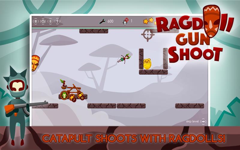布娃娃枪射击---弹弓勇士的崛起 Pro for Mac