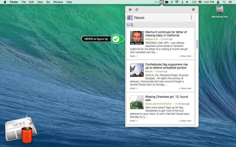News Headlines Screenshot - 4