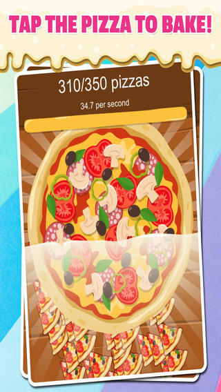 Pizza Poppers Fast Food Bakery Speed Clickers Free