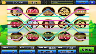 A Heart of Classic Farm Fruit with Diamond Jewel Fortune Casino - Fun Game in Vegas Blast Slots Pro