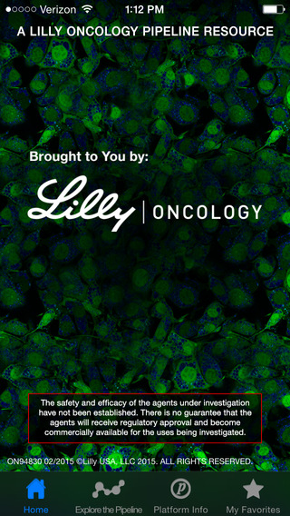 Lilly Oncology Pipeline