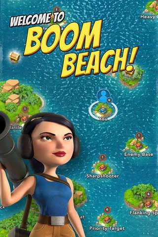 Screenshot 1 Boom Beach