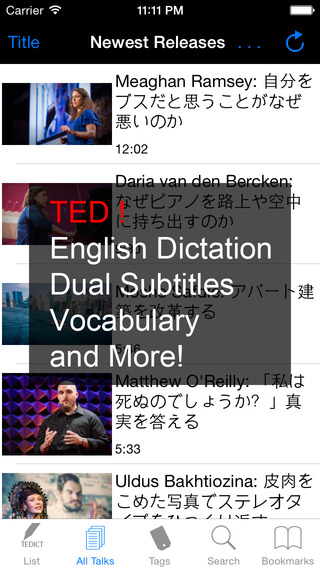 TEDICT - Learn English with TED LITE