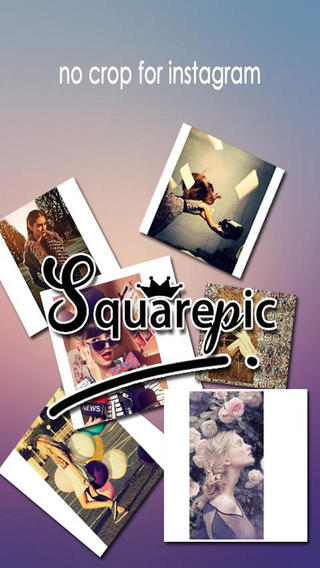 Square Ready - Post full size Photos Collage for Instagram without Cropping