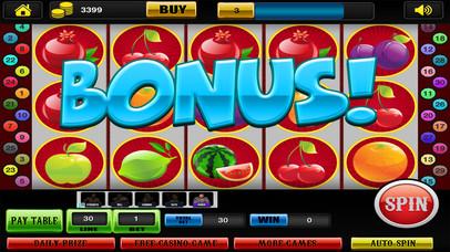 Screenshot 4 Удивительный Классические слоты с фруктами партии Ферма в Лас-Вегасе — Хит-Win джекпот Gold Casino монет бесплатно