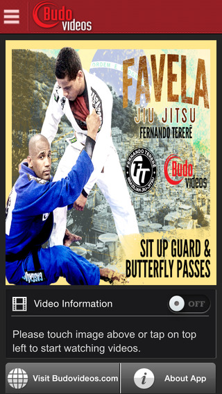 Fernando Terere Favela BJJ Vol 2 Sit Up Guard and Butterfly Passes