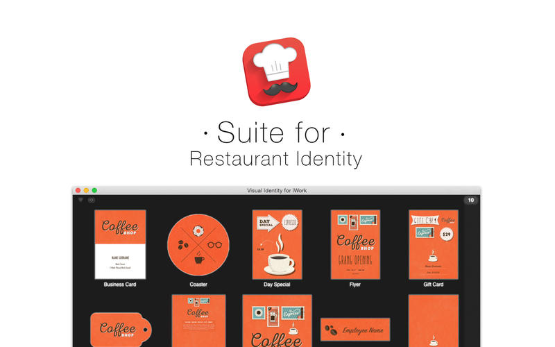 Suite for Restaurant Identity Screenshot - 1