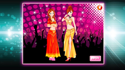 Fashion Dancer Dressup
