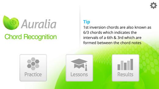 Auralia Chord Recognition