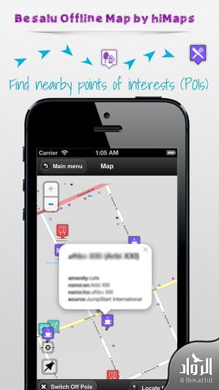 Besalu Offline Map by hiMaps