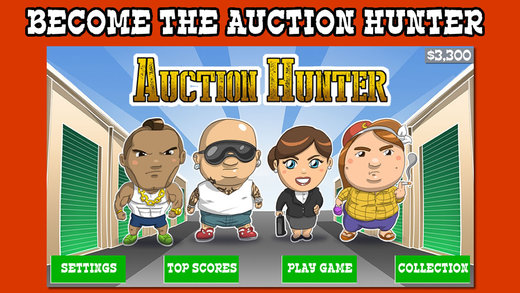 Auction Hunter Storage Game