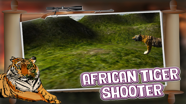African Tiger Shooter 3D - Kill Tigers with Sniper