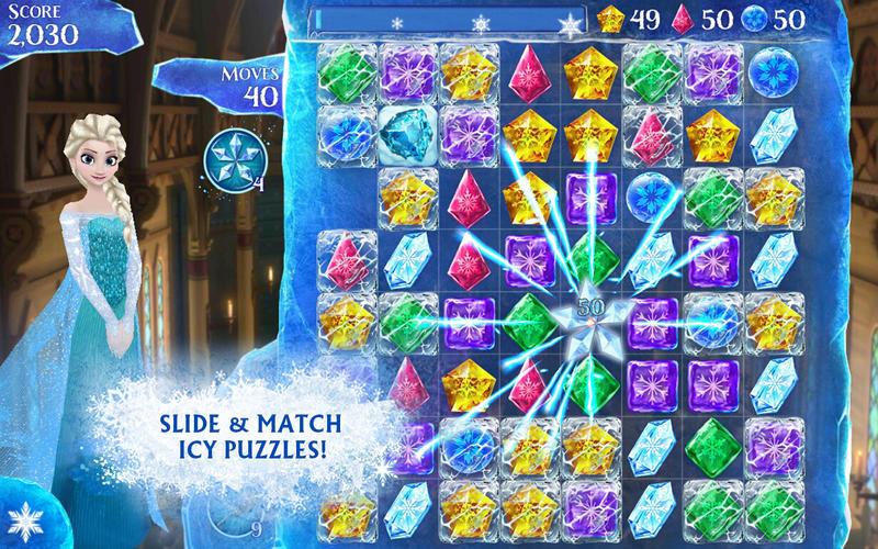 Frozen Free Fall Screenshot - 2